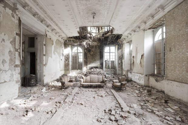 Интерьеры заброшенных дворцов Европы