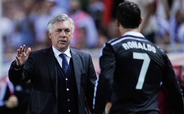 Анчелотти: «Люблю Роналду, но у него контракт с «Ювентусом» и говорить о нем неправильно»