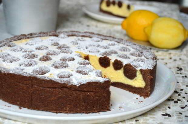 Творожное пирожное с шоколадными шариками – порадуйте себя и своих близких!