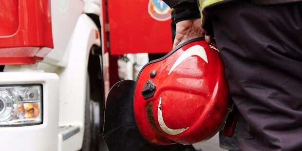 Пожарные потушили возгорание на улице Расковой