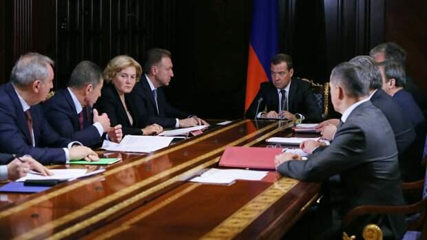 Названы имена трех вице-премьеров в новом правительстве России