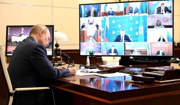 Глава Карелии рассказал Владимиру Путину, когда Карелия справится с пожарами