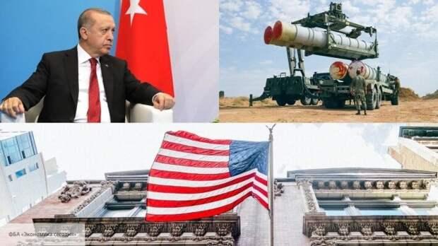 Вашингтон разозлило испытание Турцией российских С-400 на американских F-16