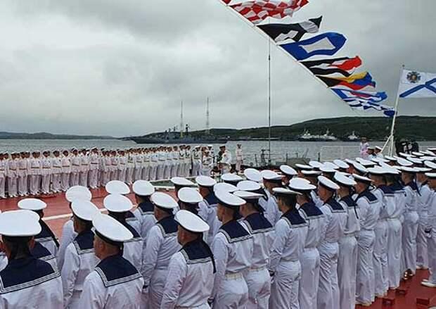 На Северном флоте началось празднование Дня ВМФ