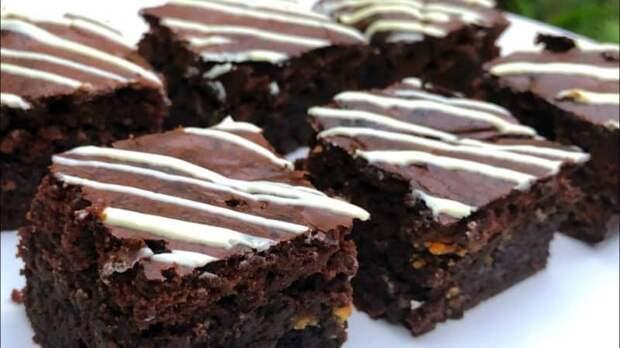 Нежный торт-пирожное