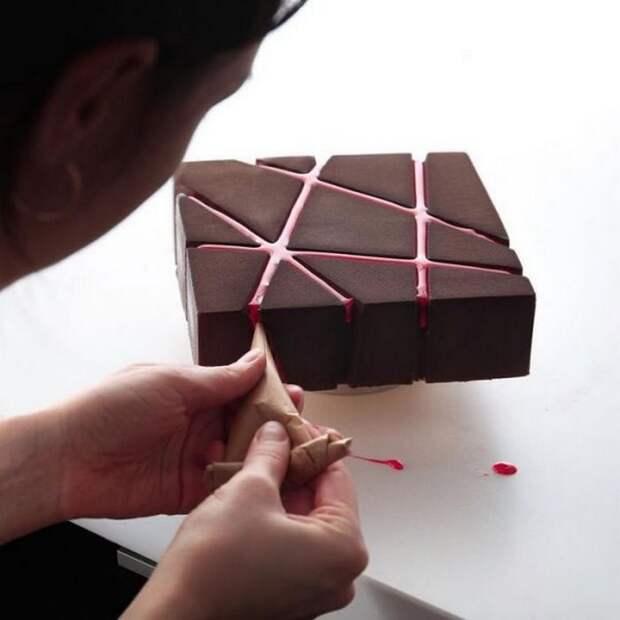 Геометрическая выпечка Динары Касько.