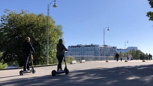 В Санкт-Петербурге появится единый центр взаимодействия властей и кикшеринговых компаний