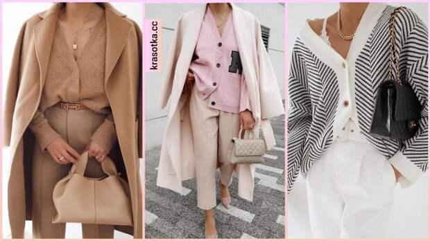 Модные кофты женские осень-зима 2021-2022: стильные и теплые фасоны