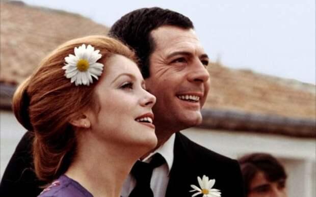 Марчелло Мастроянни и Катрин Денёв: Почему строптивая француженка так и не вышла замуж за страстного итальянца
