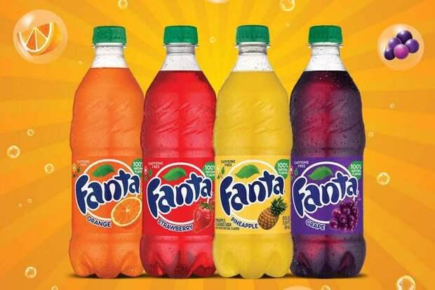 Fanta (стоимость бренда: 3,3 миллиарда долларов)