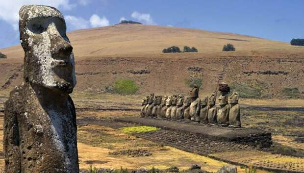 Куда смотрят статуи острова Пасхи