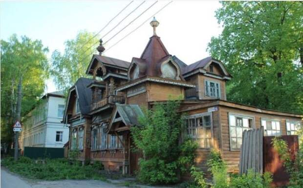 Какие секреты хранит купеческий терем XIX века в Нижнем Новгороде и как он сохранился до наших дней