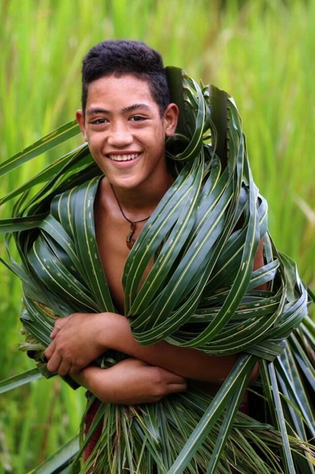 Самоанец, остров Савайи, Самоа. Автор: Александр Химушин.