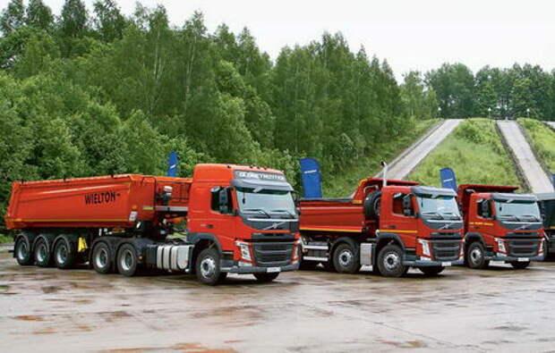 Самосвалы Volvo Trucks: для российского рынка