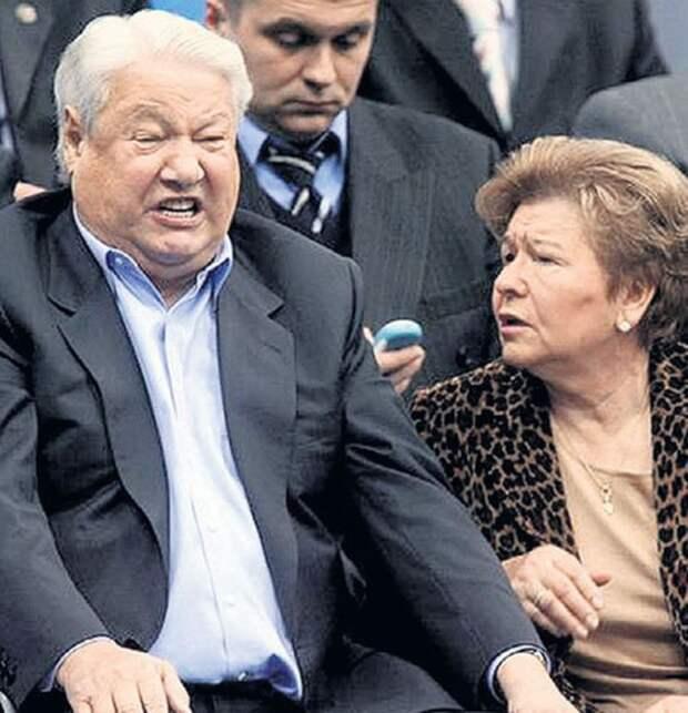 Наина Ельцина сваяла катехизис