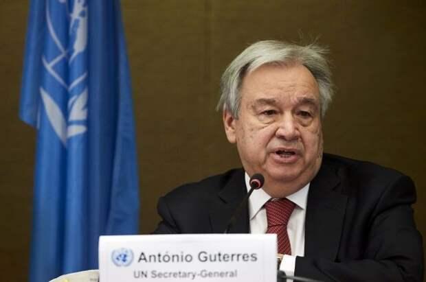 Генсек ООН призвал мировые державы предотвратить новую холодную войну