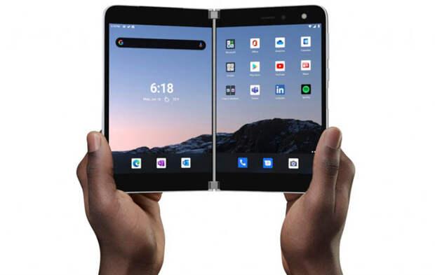 Microsoft начала прием предзаказов на смартфон Surface Duo с двумя экранами