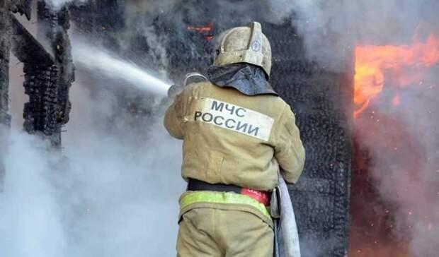 46 раз горели мусорки и стихийные свалки на территории Оренбуржья