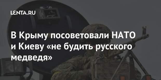 В Крыму посоветовали НАТО и Киеву «не будить русского медведя»