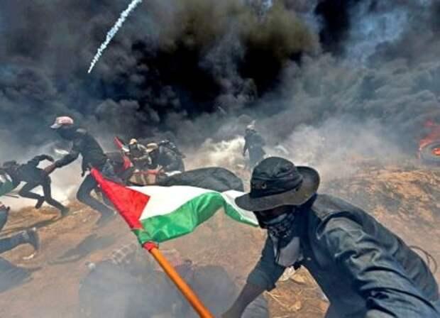 Иорданцы штурмуют израильскую границу