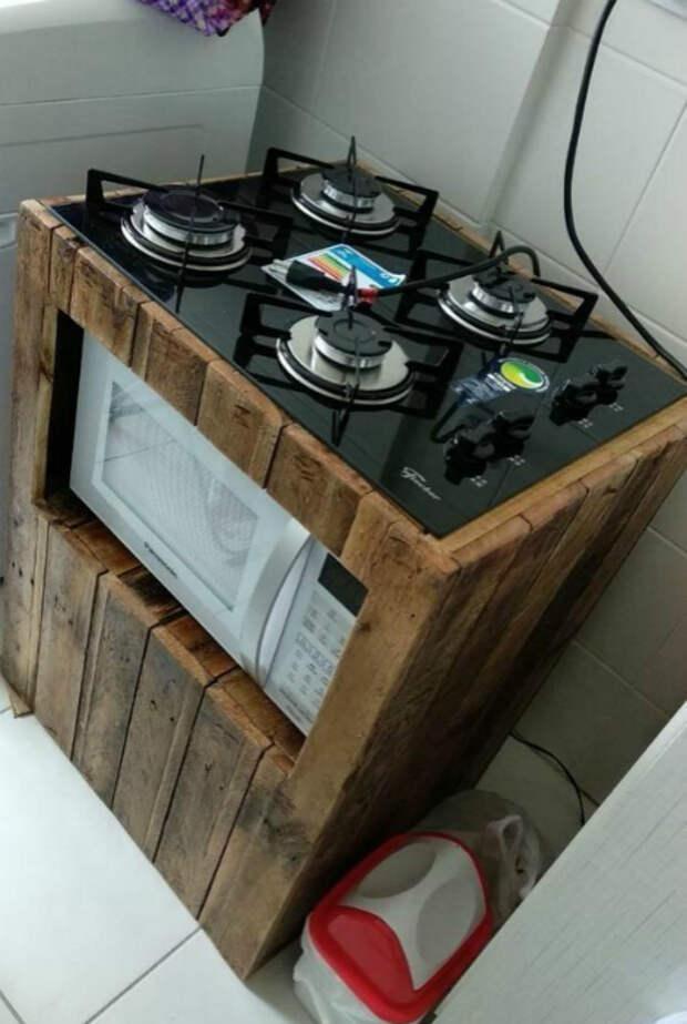 Кухонная тумба. | Фото: Pinterest.