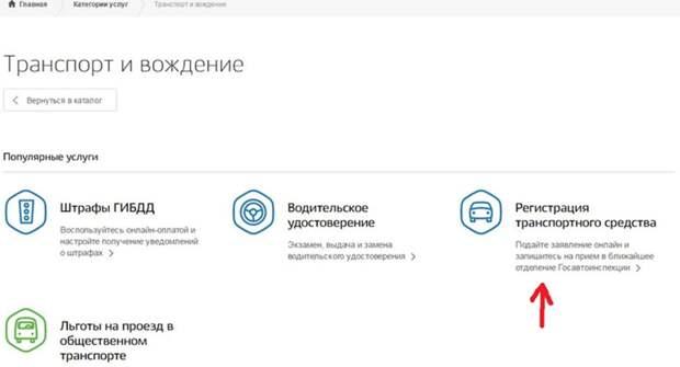 Водители Владимира смогут купить подержанные авто через портал госуслуг