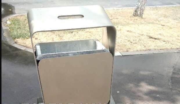 На автобусной остановке «Шоссейная, 5» убрали мусор