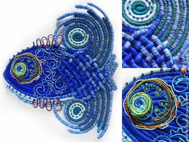 Декоративные панно в авторской технике  Автор - Жмаева Оксана