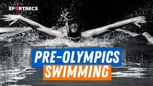 Pre-Olympics swimming