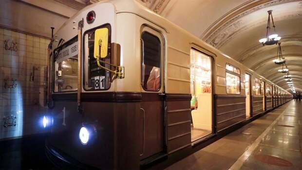 Московский метрополитен анонсировал проведение парада поездов