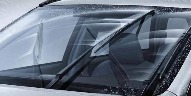 хорошие щетки для машины справляются с сильным ливнем