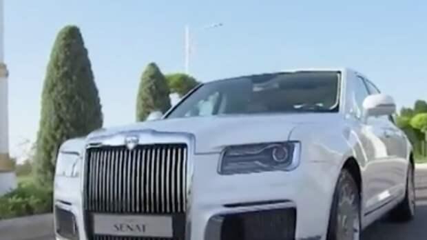 """Aurus завоевал премию """"Автомобиль года"""""""