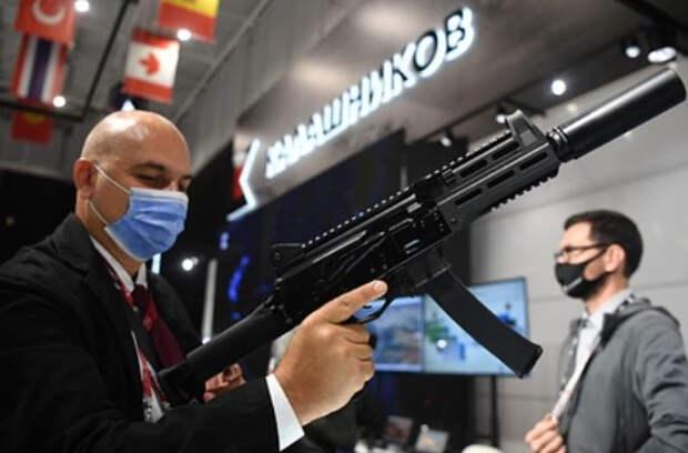 Названы преимущества нового российского пистолета-пулемета
