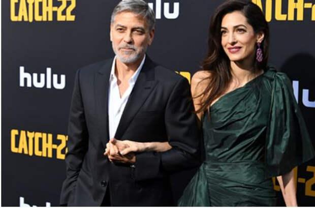 60-летний Джордж Клуни вновь станет отцом близнецов
