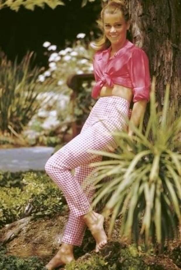 Знойная красота Джейн Фонды.