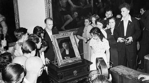 Выставка картин Дрезденской галереи