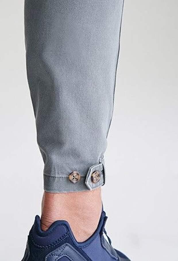 Необычные детальки мужских брюк