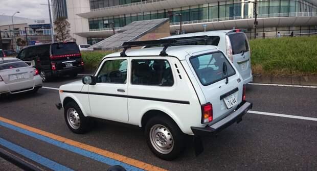 Популярность Lada Niva в Японии