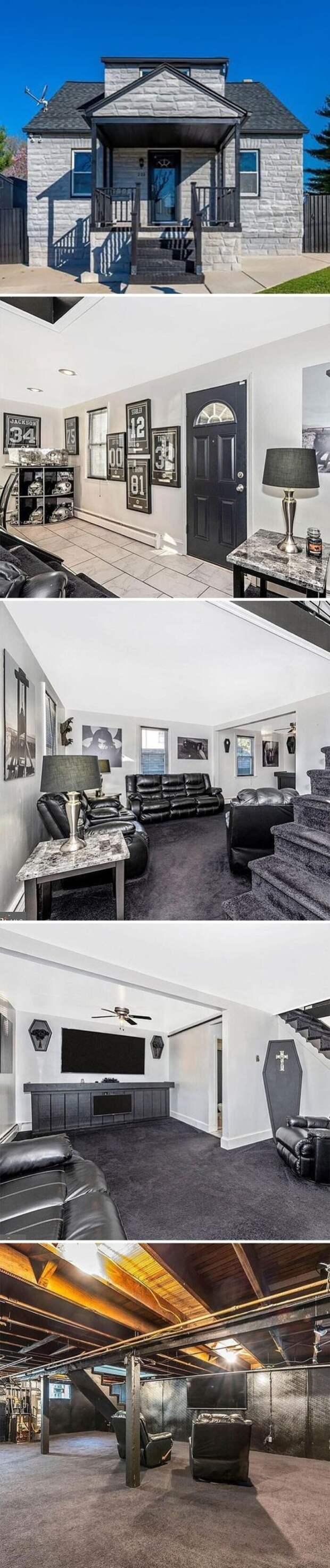 Жутковатое жилище. Цена - 225 тысяч долларов (16 млн рублей)