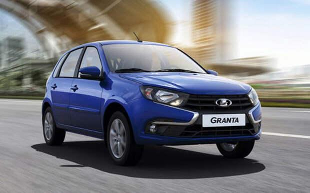 Гранта атакует: продажи обновленной модели выросли почти вдвое