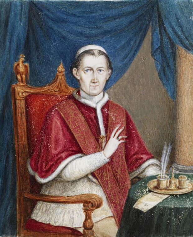 Папа Лев XII стал отцом по меньшей мере троих детей. \ Фото: id.wikipedia.org.