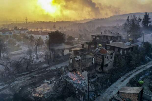 «Дети огня» взяли на себя ответственность за поджоги лесов
