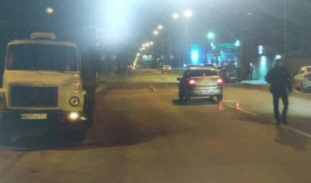 Водитель грузовика насмерть сбил пешехода вРостове