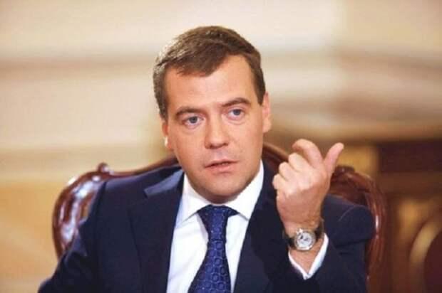 Медведев против США