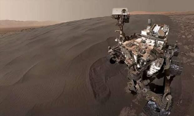 Такого Марса вы еще не видели! (4 фото + 1 видео)