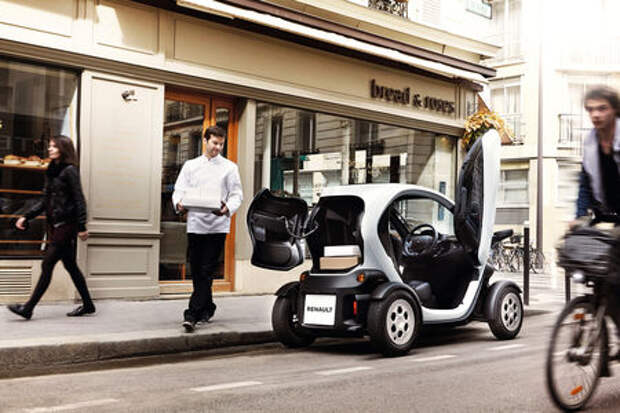 Renault позволила частникам покупать Twizy и Kangoo Z.E.