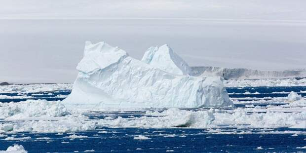 Антарктические айсберги способны вызвать новый ледниковый период