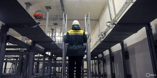 Капитальный ремонт коллектора начался в Строгине