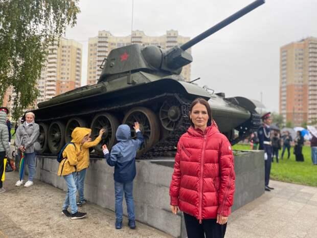 В Некрасовке торжественно открыты Сквер Победы и Аллея героев ВОВ. Автор фото: Полина Федосейкина