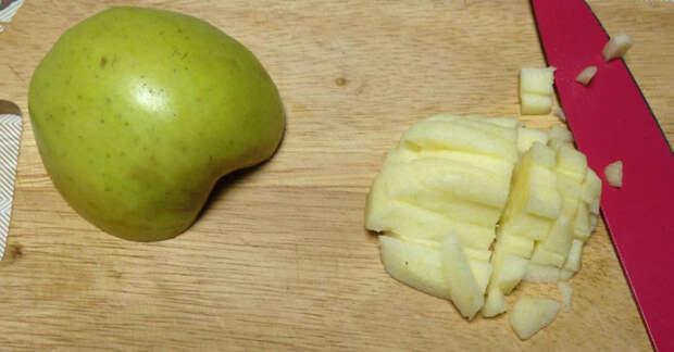 яблоки для лепешки